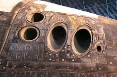 Space Shuttle Discovery Thrusters