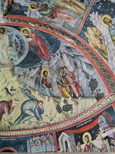168 Church Interior, Interiors, Painting, Art, Fresco, Art Background, Painting Art, Kunst, Decoration Home
