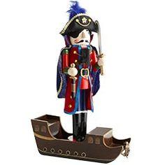Nutcrackers - Pirate Ship Nutcracker