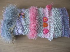 Knitted twiddle sensory muff for dementia by AllAboutWool on Etsy