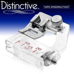 Bias tape sewing machine attachment