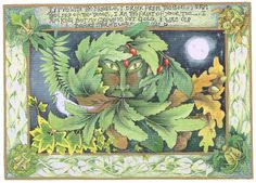 mabon green man card