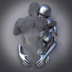 how to weld scrap metal art Steel Sculpture, Art Sculpture, Sculpture Ideas, Metal Art Projects, Metal Crafts, Art En Acier, Photografy Art, Scrap Metal Art, Steel Art