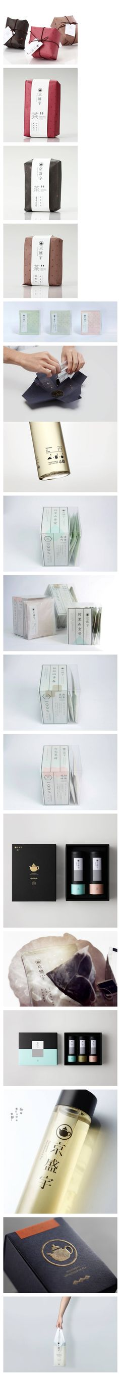 packaging / package design | Taiwan Tea Packaging 台湾茶品牌京盛宇