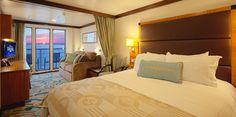 Concierge Family Oceanview Stateroom With Verandah | Disney Dream Staterooms | Disney Cruise Line