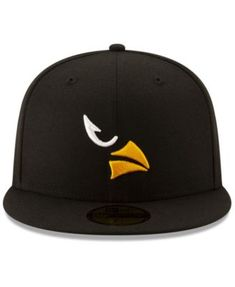 New Era Arizona Cardinals Logo Elements Collection 59FIFTY Fitted Cap - Black 7 3/4
