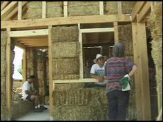 """""""Building With Awareness"""" DVD Video Excerpt 1 on Straw Bale House Design And Construction"""
