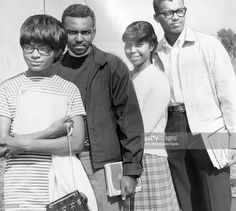 Students at Morgan State University during a graduation ceremony, Baltimore. 1960s