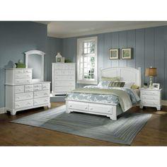 Hamilton-Franklin Full Panel Bed W/Storage - Bernie And Phyls
