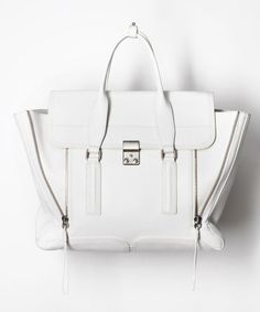 Your perfect white carry-all: 3.1 Phillip Lim 'Pashli' Bag available now at TNT