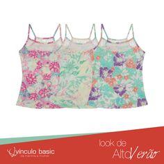 3 opções diferentes para você escolher a que mais gosta e arrasar com a estampa floral! ♥  #AltoVerão
