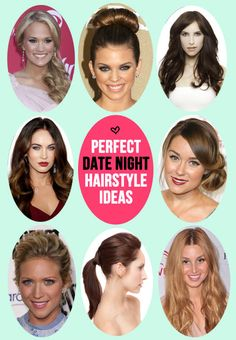 11 seriously gorgeous (and super easy!) date night hairstyles with styling tips and product recs.