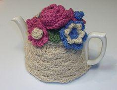 Ravelry: Shell Stitch Teapot Cozy pattern by Pammy Sue Scott