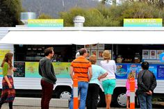Doo-Lishus food truck,at nearby Eaglehawk Neck for the best fish and chips in Tasmania, plus homemade scallop, rabbit, and venison pies.   Port Arthur