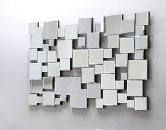 Lela Accent Mirror (Wall) in Silver - Acme Furniture 97104 Royal Furniture, Bamboo Furniture, Acme Furniture, Furniture Direct, Mirrored Furniture, Office Furniture, Furniture Decor, Furniture Sets, Furniture Design