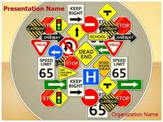 Check out our professionally designed Road Signs Road Rules #PPT #template. Download our Road Signs Road Rules PowerPoint theme affordably and quickly now. This royalty #free Road Signs Road Rules #Powerpoint #template lets you edit text and values and is being used very aptly for Road Signs, Road #Rules, #Multiple #Lane #Highway, #Pedestrian, Road Intersection and such PowerPoint #presentations.