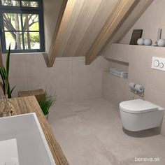 MALÉ KÚPEĽNE - Riešenia & Dizajn / BENEVA Alcove, Toilet, Bathtub, Bathroom, Standing Bath, Washroom, Flush Toilet, Bathtubs, Bath Tube