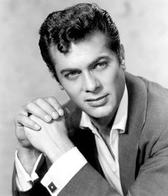 Tony Curtis. S) the only daddy more gorgeous than his daughter…lol..