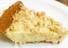 Fresh coconut milk, coconut cream concentrate, coconut flakes and coconut oil combine to make this delicious, creamy pie.