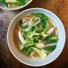 The Ultimate Desk Lunch: Gluten-Free Ginger Chicken Noodle Soup