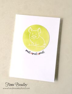 Smile - This Little Pig - Stampin' Up! This Little Piggy, Little Pigs, Stampin Up, My Crazy, Special Guest, Card Ideas, Cards, Fun, Blog