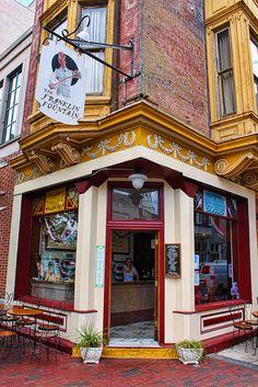 Op zoek naar leuke #koffie en #lunchtentjes in #Philly #Philadelphia?