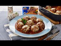 Chiftele la cuptor cu mozzarella | JamilaCuisine - YouTube Pots, Food And Drink, Drinks, Cooking, Drinking, Kitchen, Beverages, Drink, Beverage