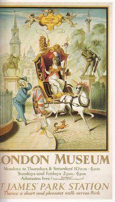 London Museum   Rex Whistler 1928  underground art pg49 second edition