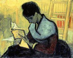 'La Lectrice de Roman' - Vincent Van Gogh – (1888)