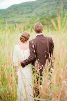 A Dreamy Rustic White & Green Wedding Shoot ~ can you guess where in the world this shoot took place?