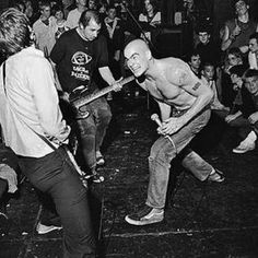 Henry Rollins and Black Flag 1980's.