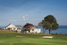 Walk right on to the greenery at the Samoset Resort