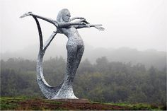 Cumbernauld Arria Mermaid by Andy Scott
