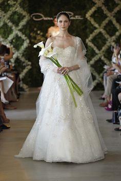 oscar de la renta spring 2013 wedding collection
