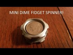 How To Make A Hand Spinner Fidget Toy (Easy DIY Munsen Ring Hand Spinners) - YouTube