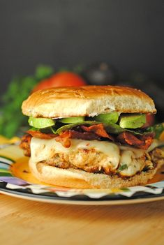Cilantro Chicken BLAT Sandwiches from @JuanitasCocina