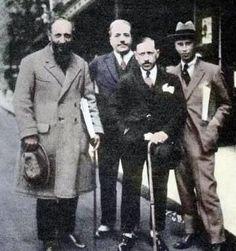 Ansermet, Diaghilev, Stravinsky and Prokofiev