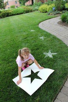 Flour yard designs