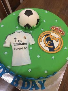 Resultado de imagen para Ronaldo and real madrid cake