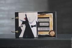 Подарки для мужчин, ручной работы. Ярмарка Мастеров - ручная работа. Купить Чековая Книжка Желаний в кожаной обложке. Handmade. Черный