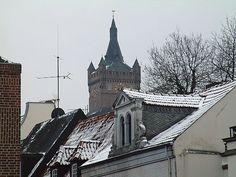 Blick auf die Schwanenburg - das Wahrzeichen meiner Heimatstadt Kleve