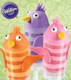 Fun Feathered Friends of Summer Treat Pop  Skill Level: No experience necessary Crafting Time: 1-2 hours Skill Level: No experience necessary  add to project list