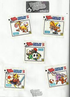07- Álbum Ping Pong Copa do Mundo Estados Unidos 94