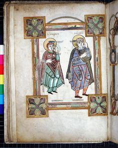 Köln, Dombibliothek, Codex 14., Evangeliar, fol. 15v
