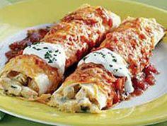 Chicken Enchiladas More