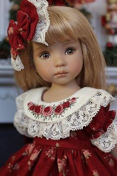 "Heirloom Ensemble for Effner 13"" Little Darling Dolls by Petite Princess Designs in Dolls & Bears, Dolls, Clothes & Accessories, Modern, Other Modern Doll Clothing 
