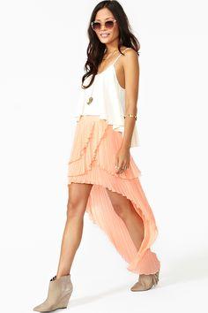 Freedom Lover Skirt ++ Nasty Gal