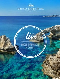 Life is more interesting when you live to discover it…Get ready to discover the many UNIQUE EXPERIENCES of Cyprus! #travel #wanderlust #Mediterranean #Sea