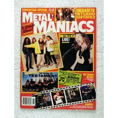 Metal Maniacs Magazine - November 1992         >>> See this great product. (This is an affiliate link) #EntertainmentCollectibles