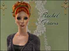 Lowi♥Sims: ★Update★ ts2 sim - Rachel Travis Sims 2, Crochet Hats, Female, Free, Fashion, Knitting Hats, Moda, Fashion Styles, Fashion Illustrations